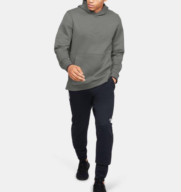 Mens UA Recover Fleece Graphic Hoodie