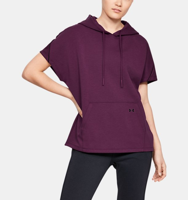 Women's UA Double Knit Short Sleeve Hooded Tunic