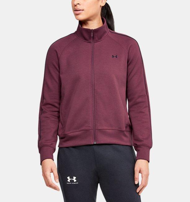 Womens UA Double Knit Track Jacket