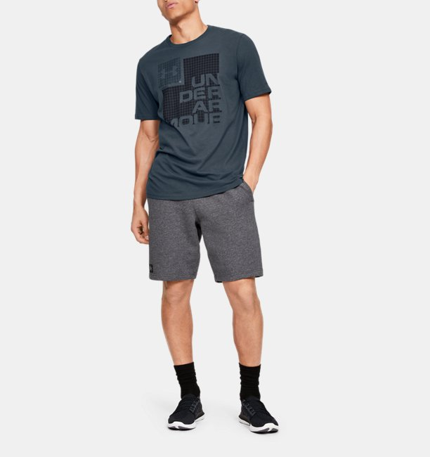 Mens UA Grid Short Sleeve