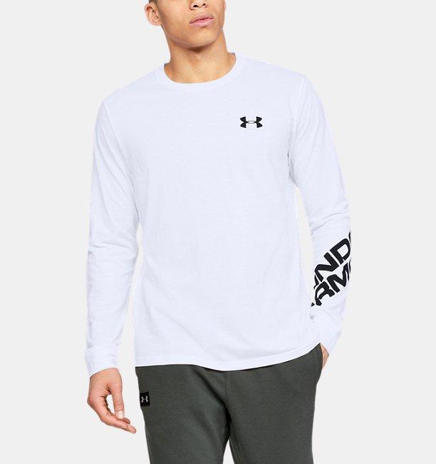 UAワードマーク スリーブ ロングスリーブ(トレーニング/Tシャツ/MEN)