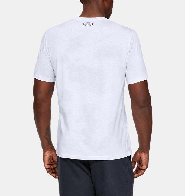 Mens UA Printed Bar Short Sleeve