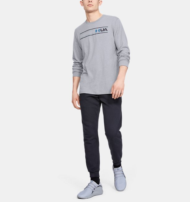 UAチーム ストライプ ロングスリーブ(トレーニング/Tシャツ/MEN)