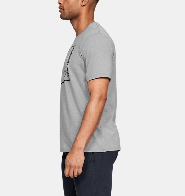 Mens UA Rhythm Short Sleeve