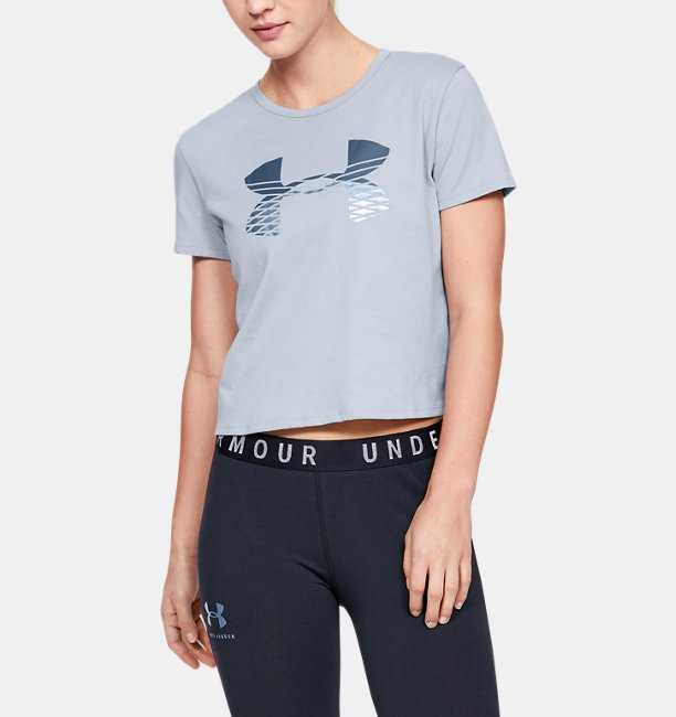 UAグラフィック ファッション ベイビー Tシャツ ロゴ(トレーニング/Tシャツ/WOMEN)
