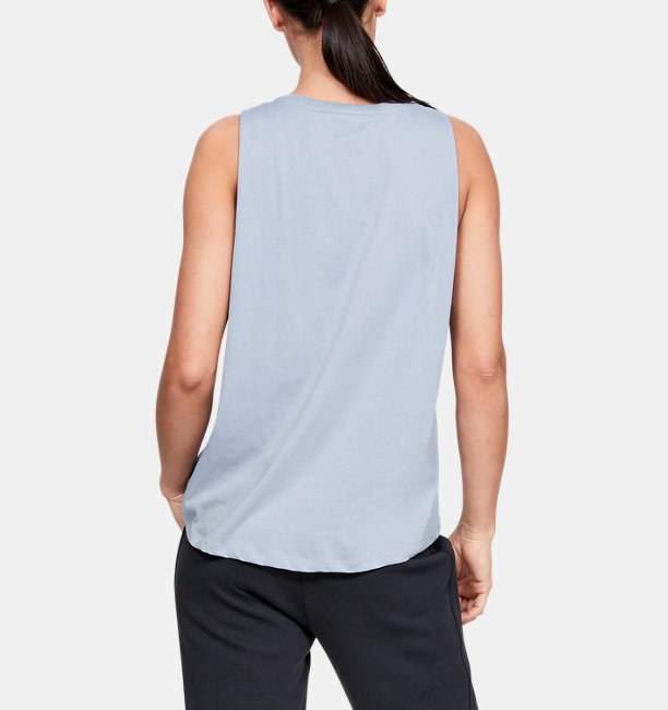 Womens UA Graphic Fashion Flow Tank