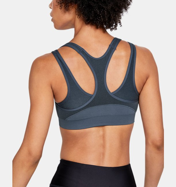 Womens UA Vanish Seamless Mid Sports Bra