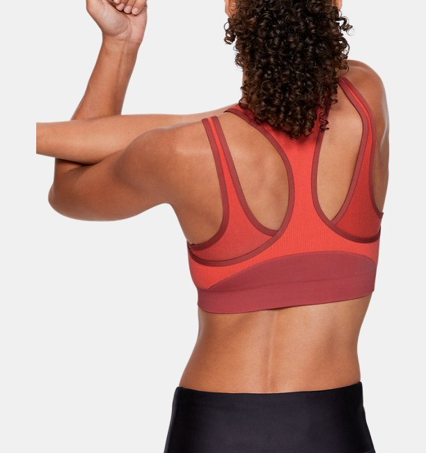 Womens UA Vanish Seamless Mid Sports Bra