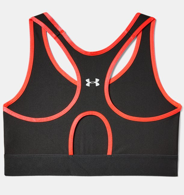 Womens Armour® Mid Keyhole Graphic Sports Bra