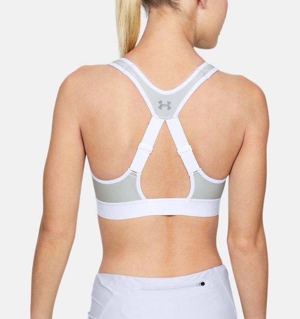 Bra Deportivo Armour® High Zip para Mujer