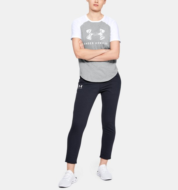 Womens UA Fit Kit Baseball T-Shirt