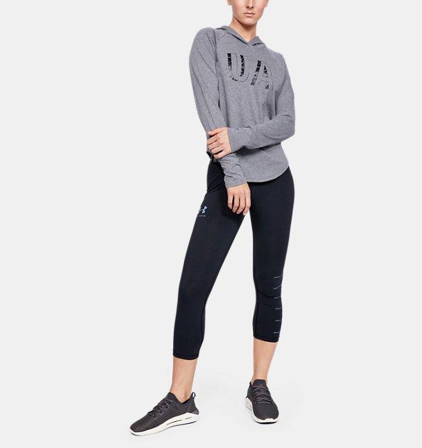 UAフィットキット ベースボール ロングスリーブ グラフィック(トレーニング/Tシャツ/WOMEN)