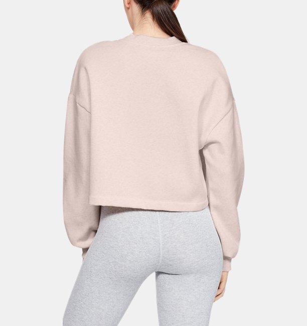 Sudadera UA Rival Fleece Graphic LC para Mujer