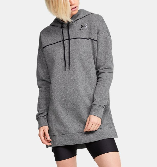 Womens UA Rival Fleece Tunic