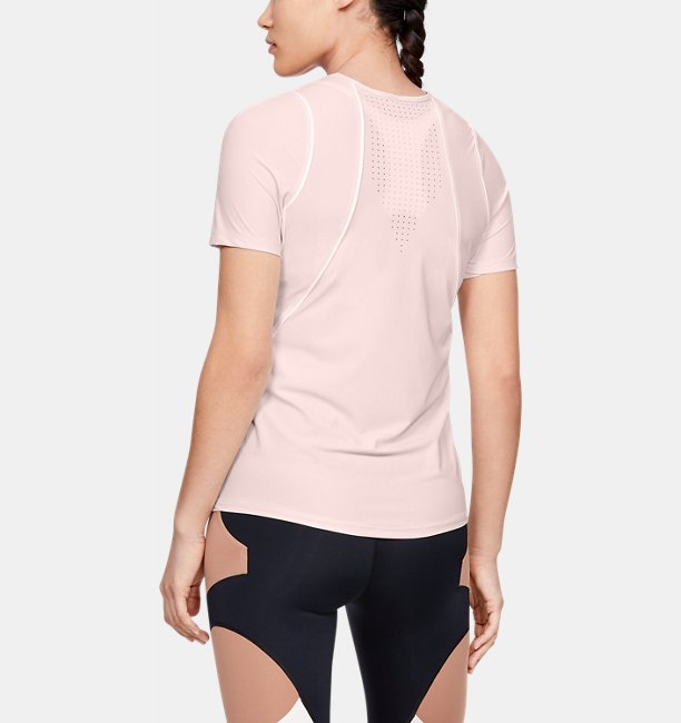Womens UA Perpetual Fitted Short Sleeve