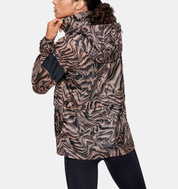 Womens UA Perpetual Storm Full Zip Printed Hoodie