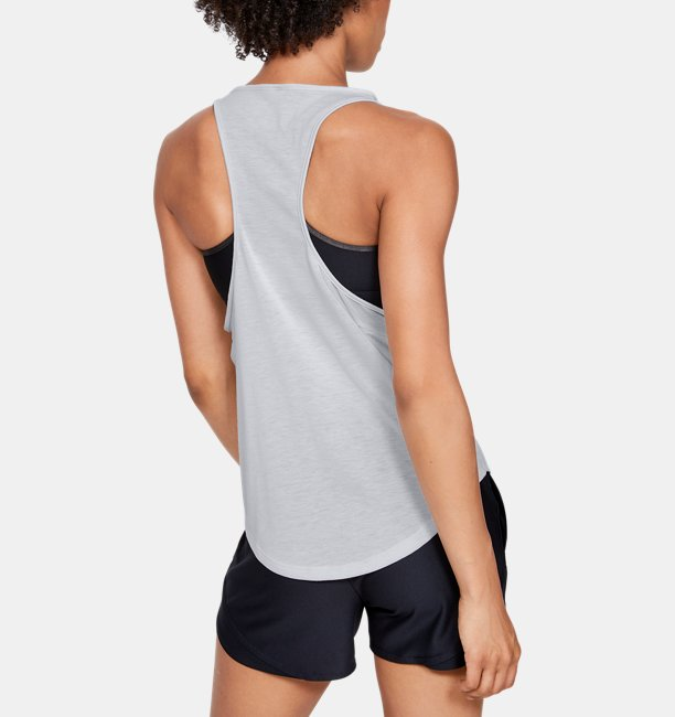 Camiseta sin mangas UA Whisperlight Mesh para mujer