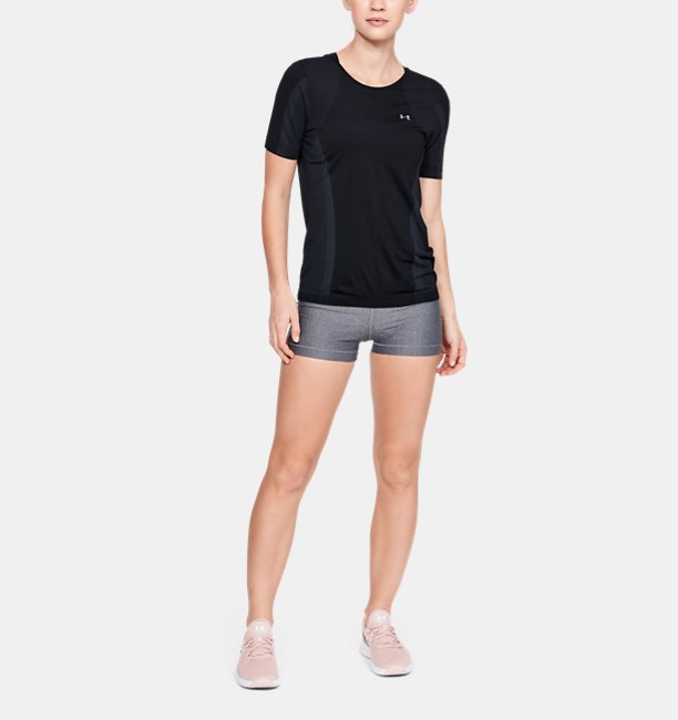 Womens UA Vanish Seamless Short Sleeve Keyhole
