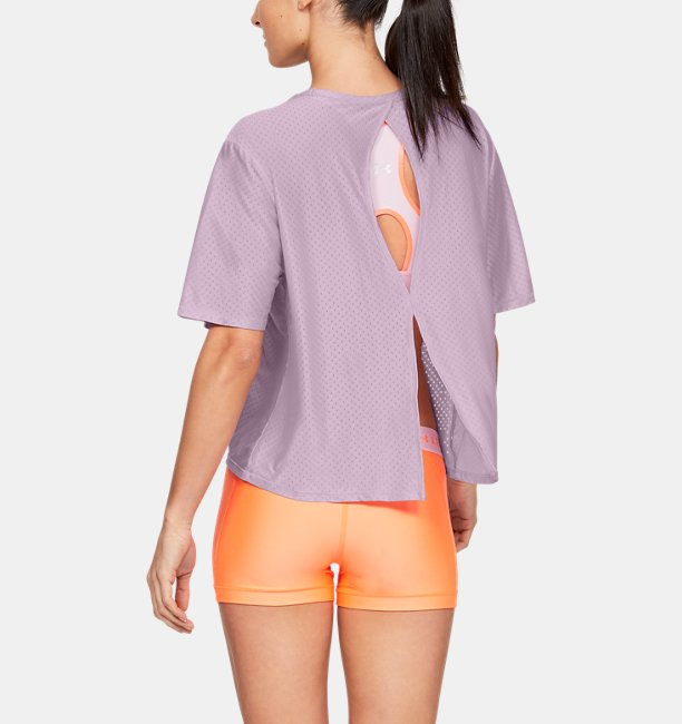 Womens UA Armour Sport Short Sleeve