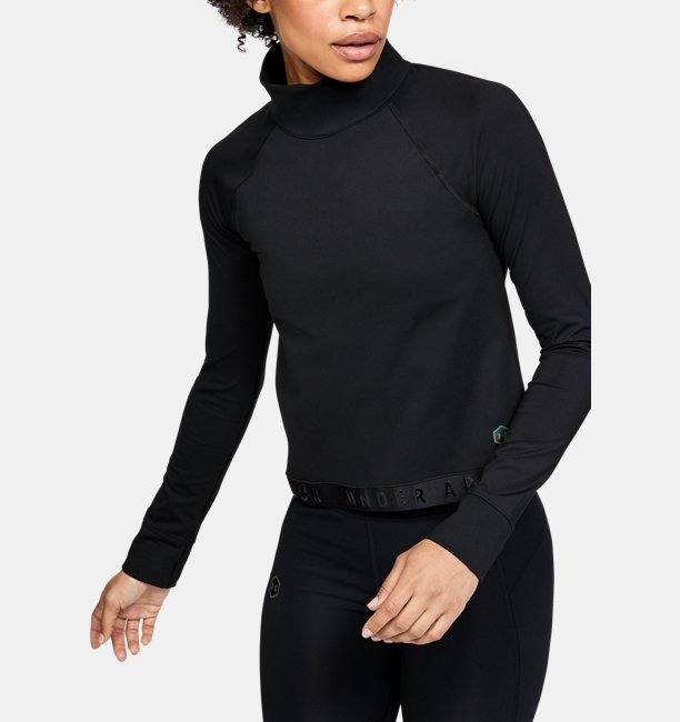 Damen UA RUSH™ ColdGear® Langarmshirt