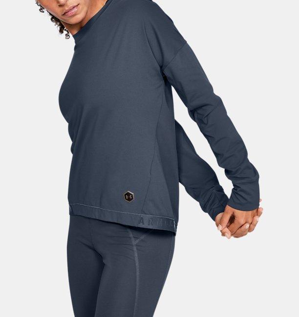 여성 UA RUSH™ ColdGear® 풀오버