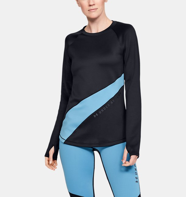 Womens ColdGear® Armour Long Sleeve Graphic