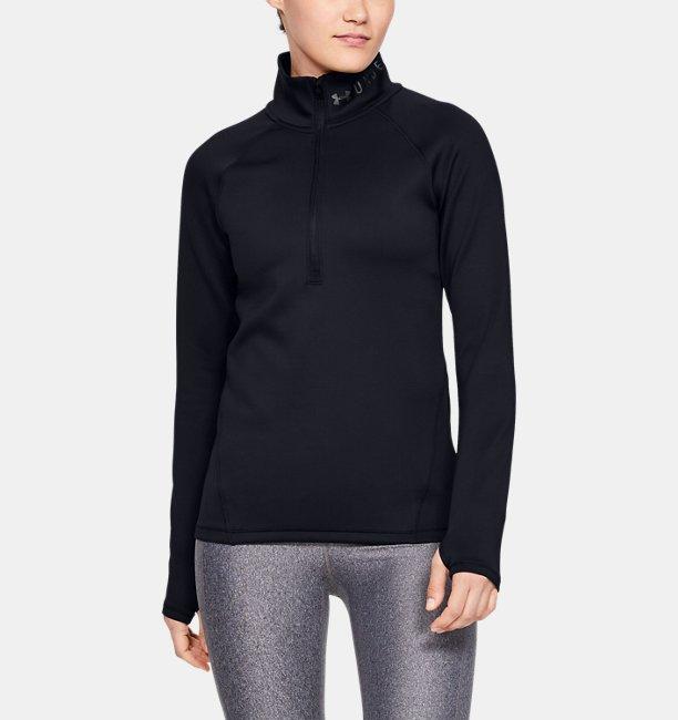 Damen Shirt ColdGear® Armour, mit halblangem Reißverschluss