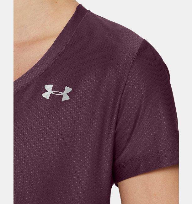 Womens UA Tech™ Short-Sleeve V-Neck Novelty