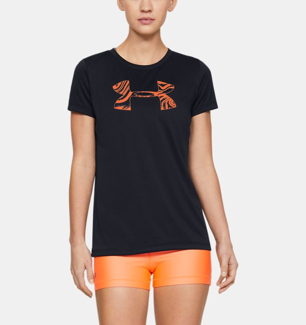 Womens UA Tech™ Short Sleeve Graphic