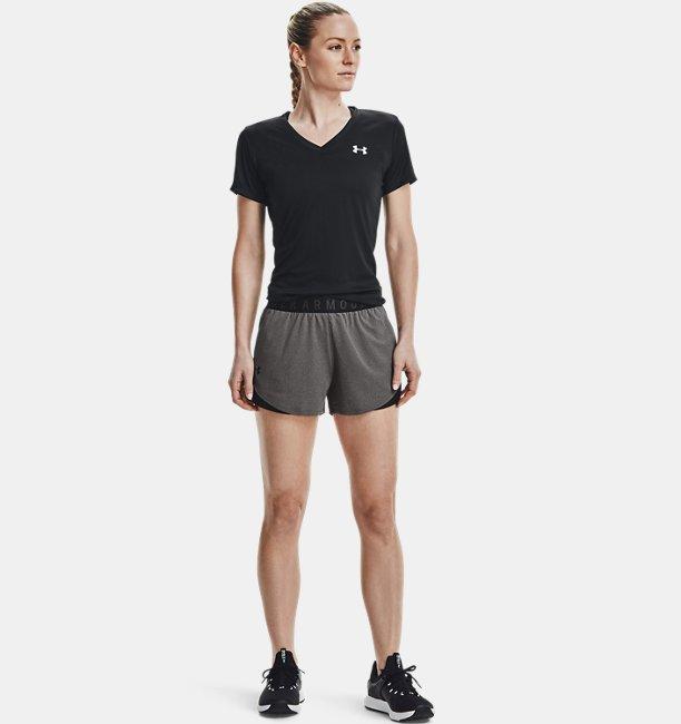Womens UA Play Up Shorts 3.0