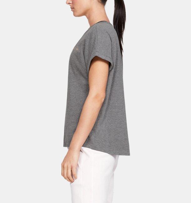 Womens UA Graphic LC Logo Fashion Short Sleeve Crew