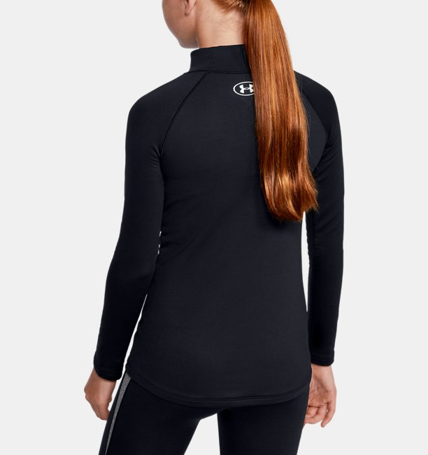 Girls ColdGear® Long Sleeve Mock