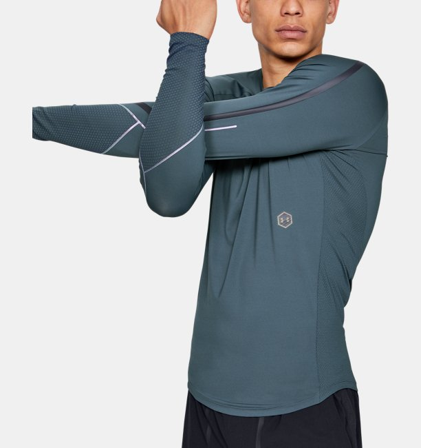 Mens UA RUSH™ Graphic Long Sleeve