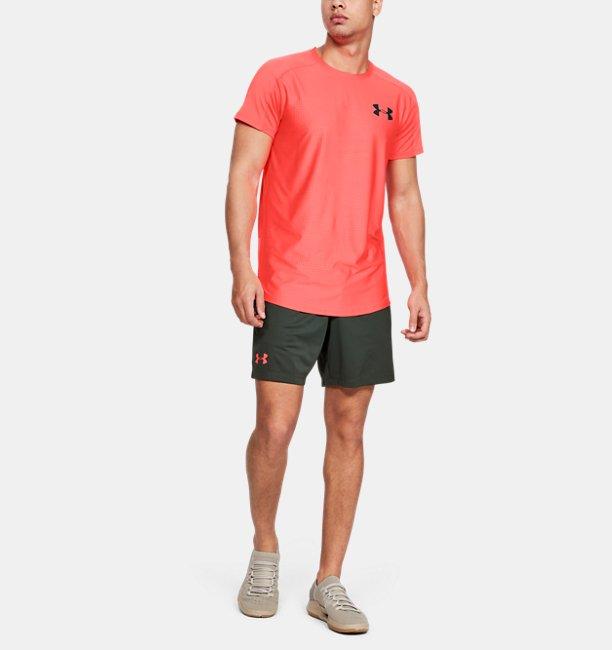 Camiseta de manga corta UA MK-1 Emboss para hombre