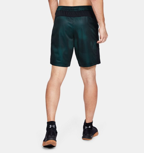 Mens UA MK-1 Printed Shorts