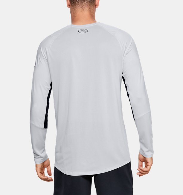 UA MK-1 ロングスリーブ ワードマーク(トレーニング/Tシャツ/MEN)