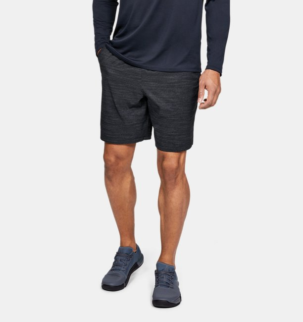 Mens UA Qualifier Printed Shorts