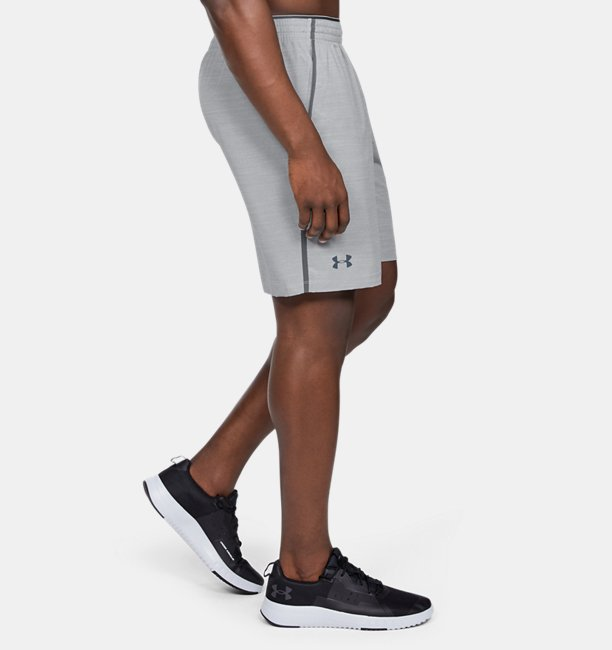Mens UA Qualifier Printed Shorts