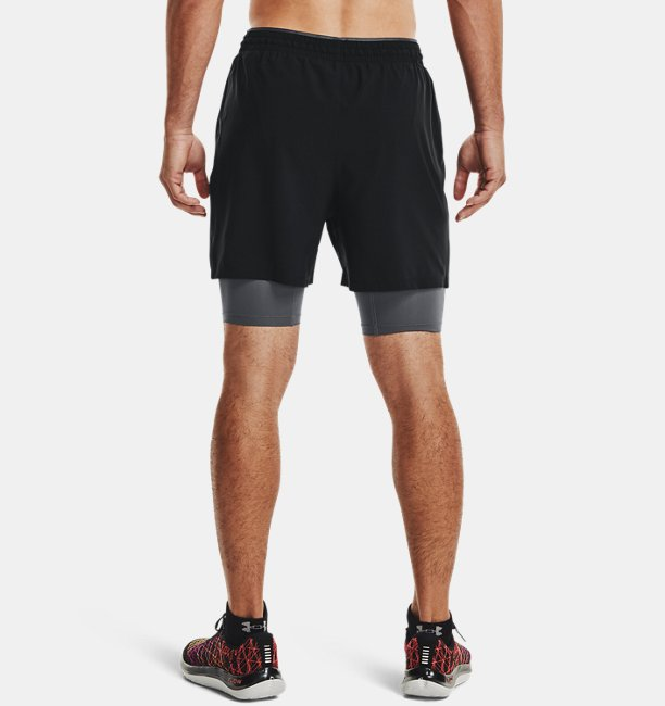 Shorts de Treino Masculino Under Armour Qualifier 2-in-1