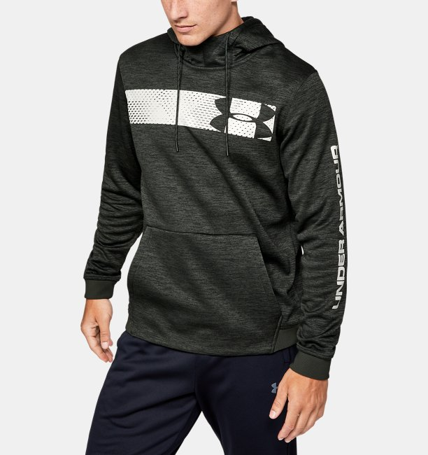 Men's Armour Fleece® Bar Logo Graphic Hoodie