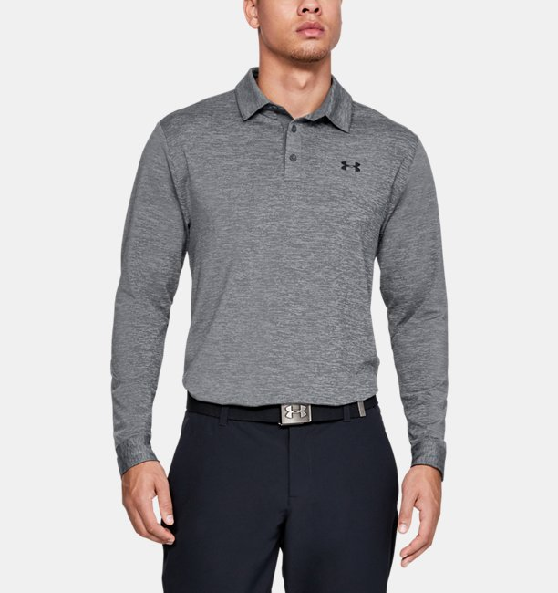 f619535000 Men's UA Playoff 2.0 Long-Sleeve Polo | Under Armour IE