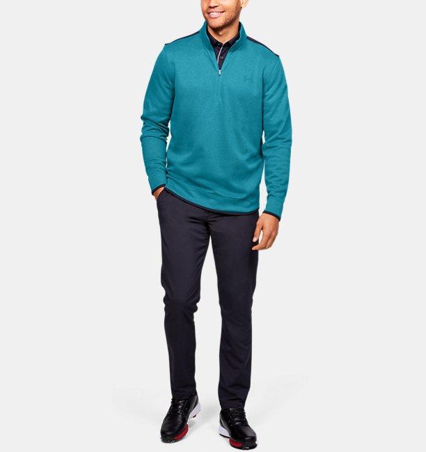 Mens UA SweaterFleece ½ Zip