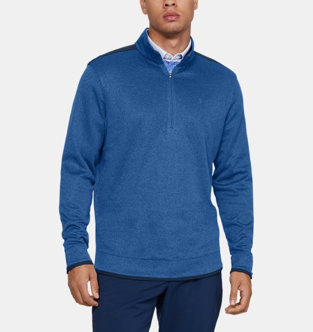 Mens UA SweaterFleece ½ Zip