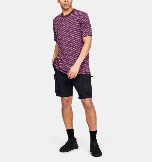 Mens UA Unstoppable Woven Cargo Shorts