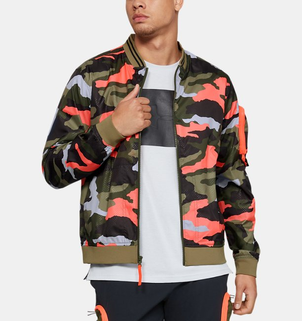 Men's UA Unstoppable Camo Bomber Jacket
