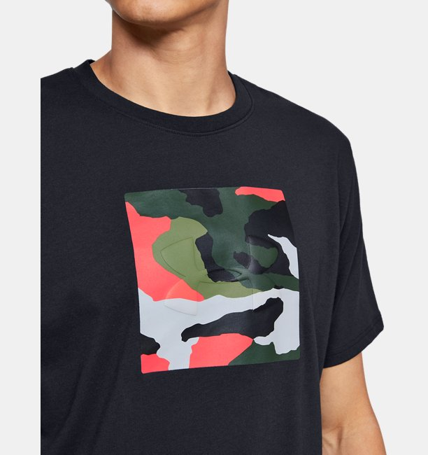 Mens UA Unstoppable Camo T-Shirt