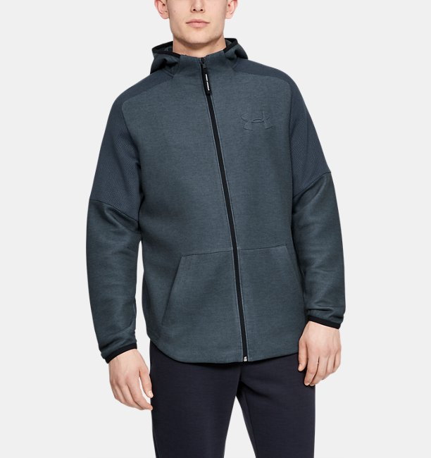 Mens UA Unstoppable Move Light Full Zip