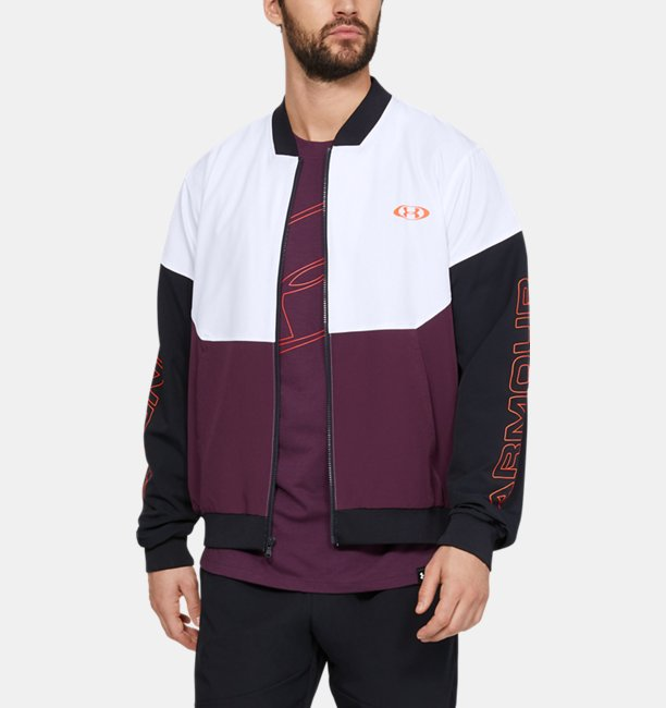 Mens UA Unstoppable 96 Bomber Jacket