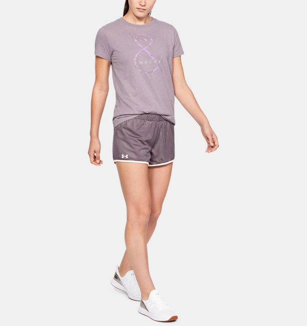 Womens UA Rise & Thrive Graphic Classic Crew