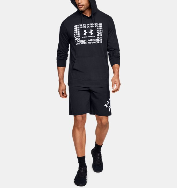 Mens UA Sportstyle Cotton Hoodie